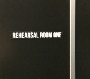 Rehearsal room at QTC, Brisbane